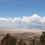 Abschied vom Ngorongoro Krater