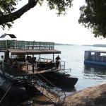 Ab zum Sundowner mit dem Boot