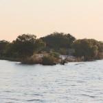 Eine Insel. Eine Insel. Da ist eine Insel.