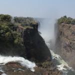 Auf der Simbabwe-Seite ist definitiv mehr Wasser