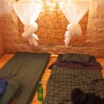 Schlafstätte im Gasthaus