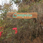 Campsite, hier konnten wir relaxen, war aber auch der härteste Arbeitsplatz