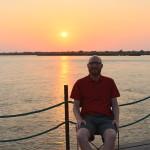 Sonnenaufgang am Sambesi