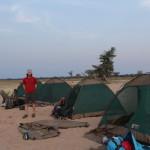 User Camp ist aufgebaut