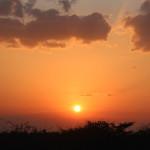 Sonnenuntergang mit wahnsinnig tollen Farben