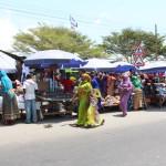 Markt auf dem Weg zum Busbahnhof