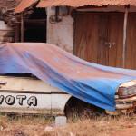Der Toyota wird wohl nicht mehr fahren