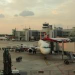 Düsseldorf Airport - hier beginnt es also