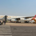 Ankunft in Lusaka