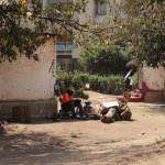 Handwerkliche Arbeit in Kabwata