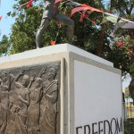 Statue der Freiheit in Lusaka