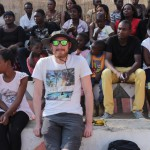 Bei den Kulturellen Tänzen in Kabwata Cultural Villiage