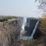 Die Falls in Sambia