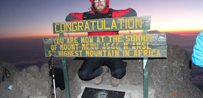 Top vom Mount Meru