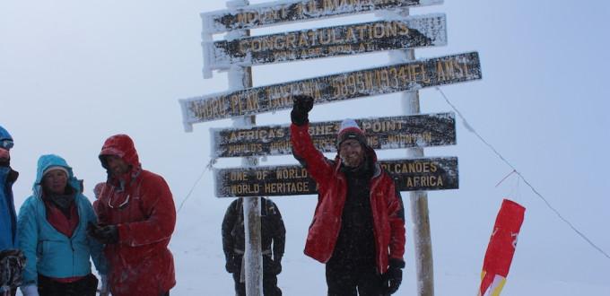 Gipfel des Kilimandscharos