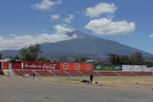 Letzter Blick auf den Mt.Meru
