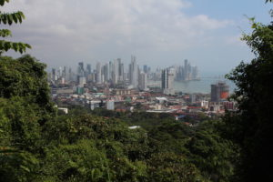 Ausblick auf Panama City vom Ancon Hill