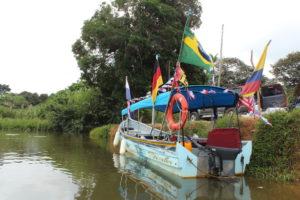 Boot zum Übersetzen auf San Blas