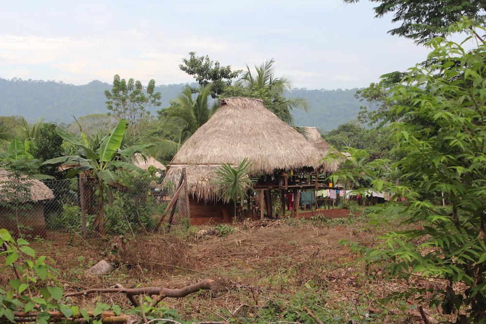 Blick auf das Kuba-Dorf