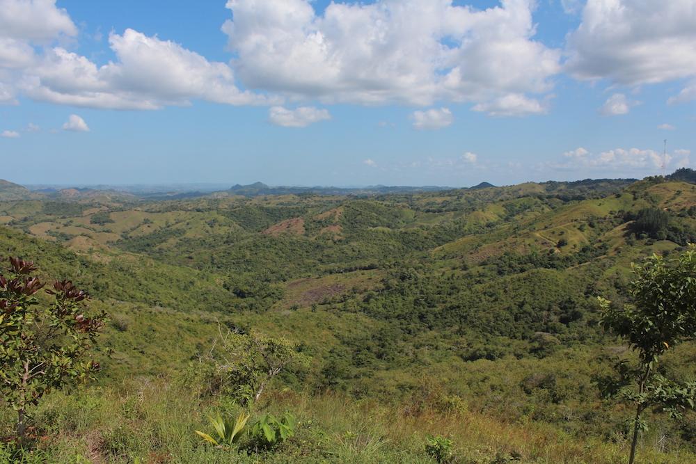 Wunderbare Landschaft in der Provinz Herrera
